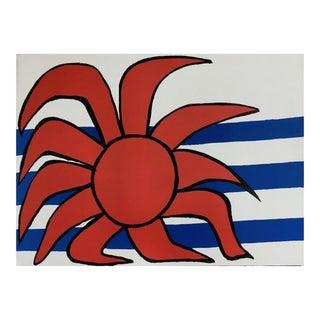 Alexander Calder Sun & Sea Circa 1970-1976 For Sale