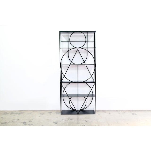 Contemporary Modern Etagere No. 1 by Alex Drew & No One For Sale - Image 3 of 4