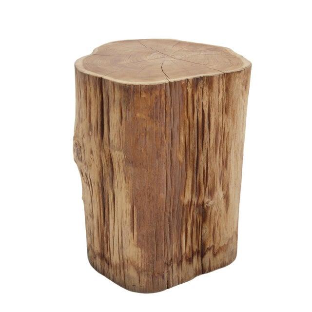 Organic Teak Stump Stool - Image 3 of 3