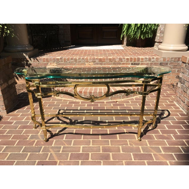 American Classical LaBarge Sofa Table For Sale - Image 3 of 10