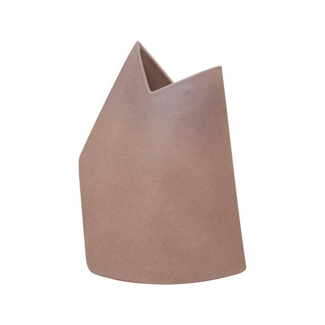 James Johnston Pink Geometric Studio Pottery Vase - Image 1 of 5