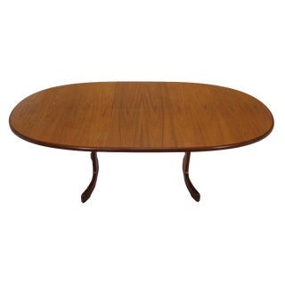Mid Century Modern Extending Teak Dining Table by G Plan For Sale