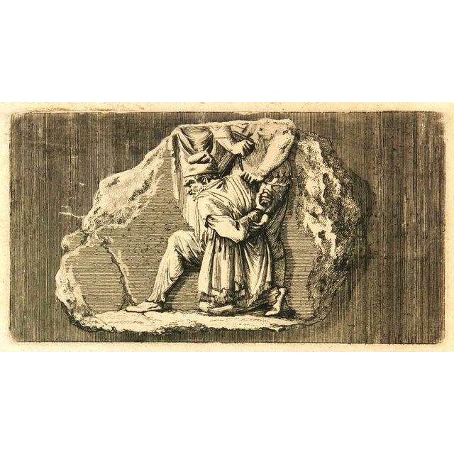 Antiquities Roman Empire Engraving, C. 1750 - Image 4 of 4