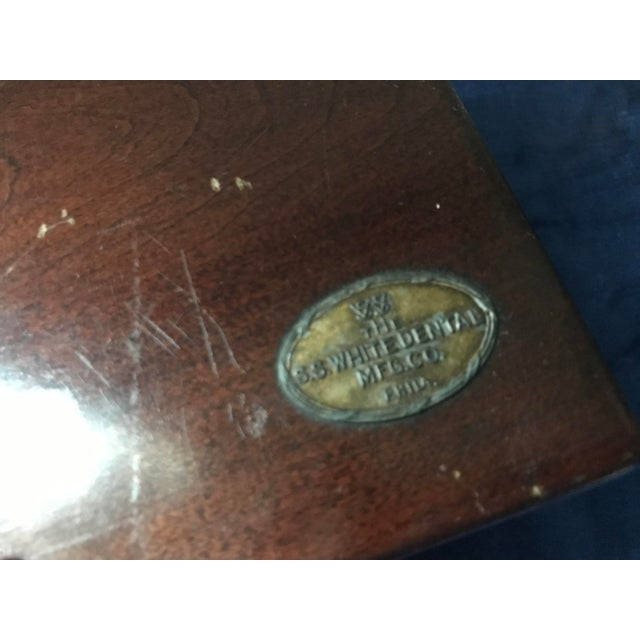 Metal Vintage s.s. White Dental Manufacturing Company Zinc Cement Supply Box For Sale - Image 7 of 12