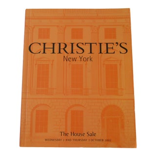 Christie's New York the House Sale Catalogue For Sale