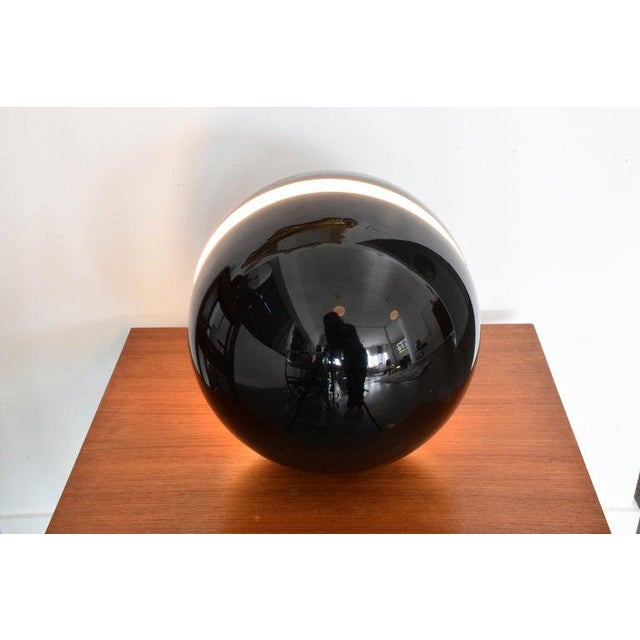 1980s 20th Century Globe Table Lamp by Andrea Modica for Lumess, 1980's For Sale - Image 5 of 9