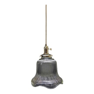 Reproduction Holophane Pendant Light