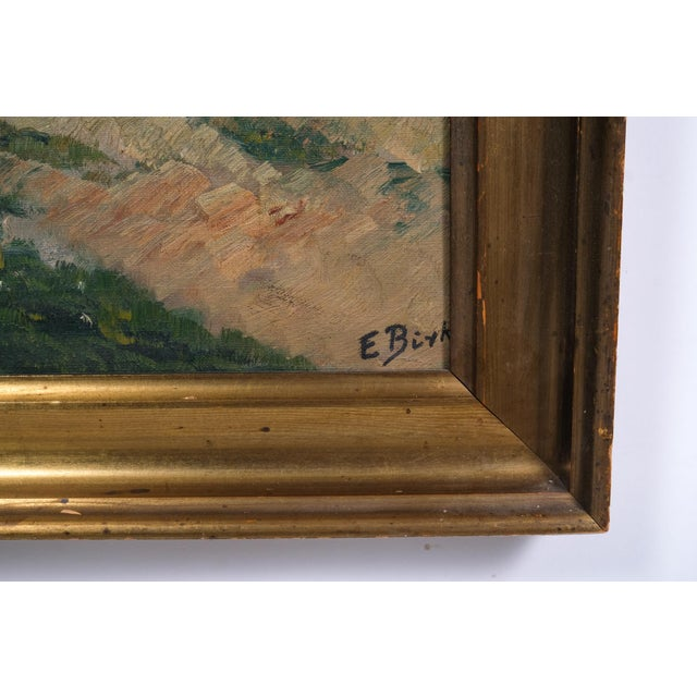 French Impressionist Country Road by E. Byk For Sale - Image 3 of 9