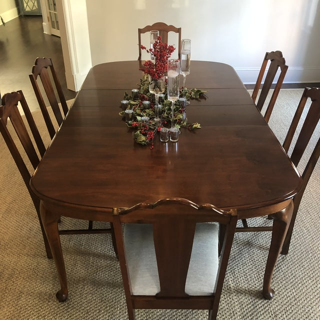 Traditional 1920s Vintage Dining Table For Sale - Image 3 of 9