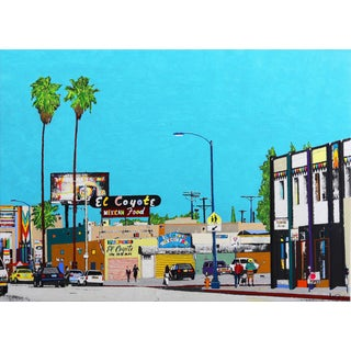 """This Is Beverly Blvd #23"" Original Artwork by Fabio Coruzzi For Sale"
