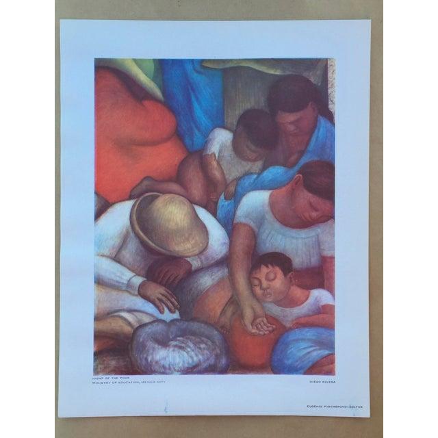 1948 Original Diego Rivera Prints - A Pair - Image 3 of 11