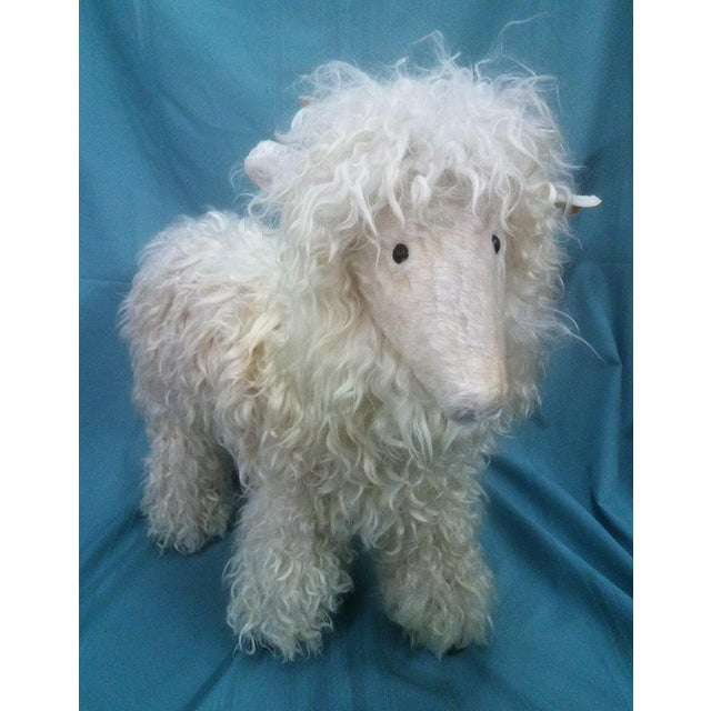 Ray Growler White Lamb Sheep Figure For Sale - Image 11 of 12