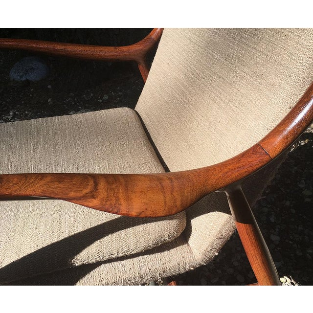 Vintage Finn Juhl Nv-45 Rosewood Club Chair For Sale - Image 6 of 6