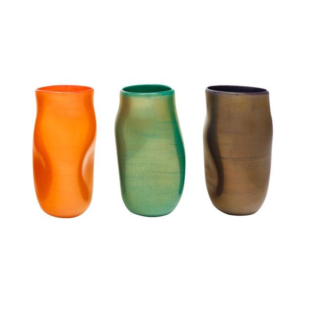 "Glass Murano Glass ""Cartoccio"" Vases For Sale - Image 7 of 7"