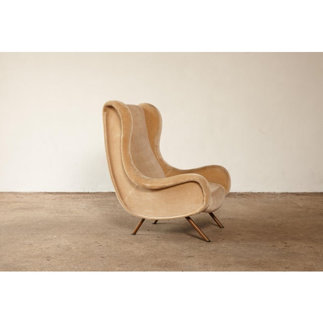 Mid-Century Modern 1960s Mid-Century Modern Marco Zanuso for Arflex Senior Chair For Sale - Image 3 of 12