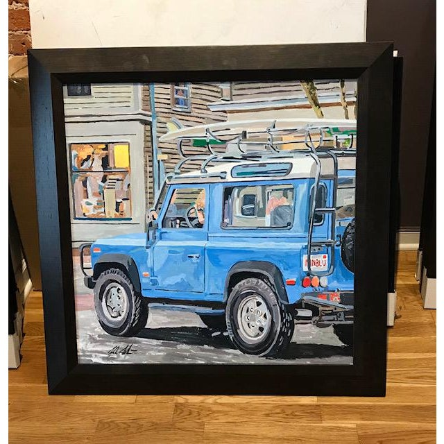 Realism Headed to the Beach by Josh Moulton For Sale - Image 3 of 3