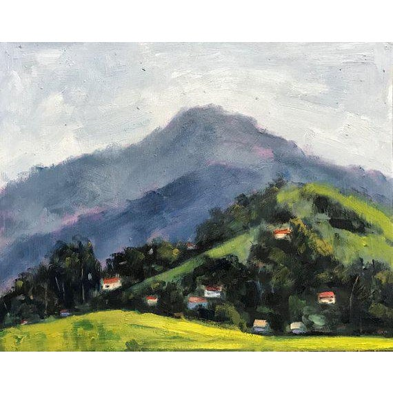 Mt Diablo - 11.75 x 15 - Martinez, California - Plein Air Landscape 11.75 x 15 on gessoed panel. Unframed. I painted this...