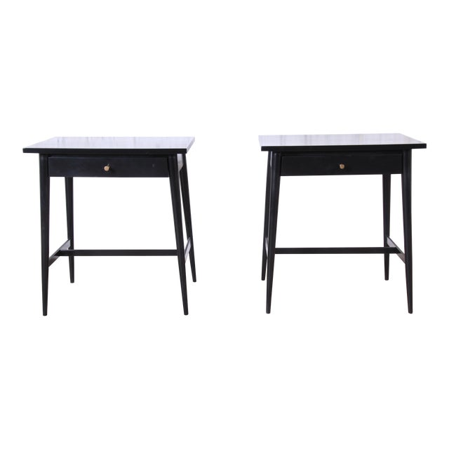 Paul McCobb Planner Group Nightstands or End Tables - a Pair For Sale