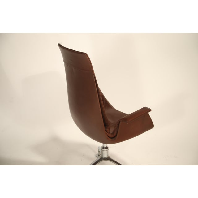 Fk 6725 'Bird' Chair by Preben Fabricius and Jorgen Kastholm for Alfred Kill For Sale - Image 10 of 13
