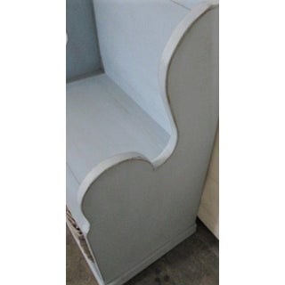Bench With Basket Cottage Coastal Style - English Garden Bench Preview