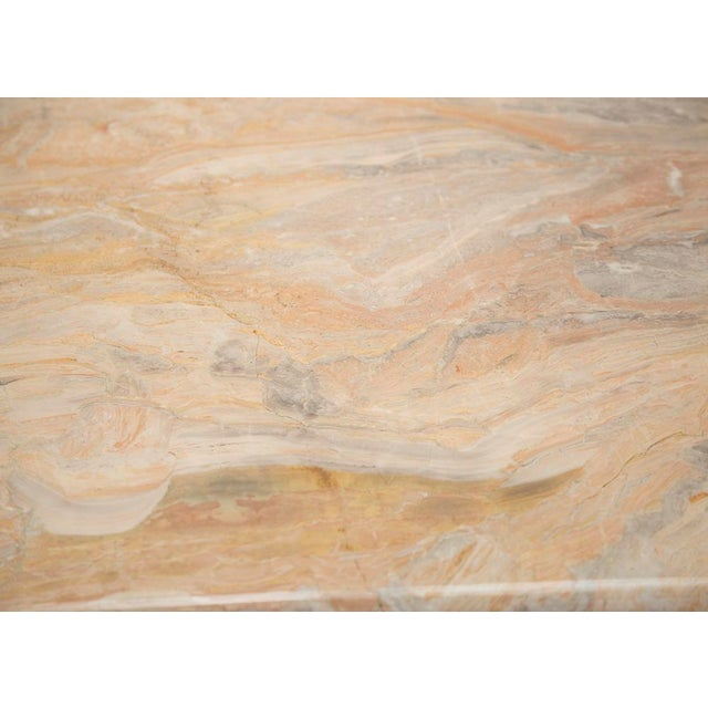 Marble Variegated Marble Console Table For Sale - Image 7 of 10