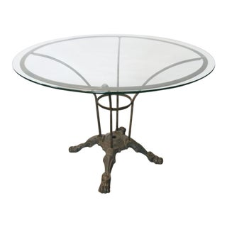 French Round Garden Table