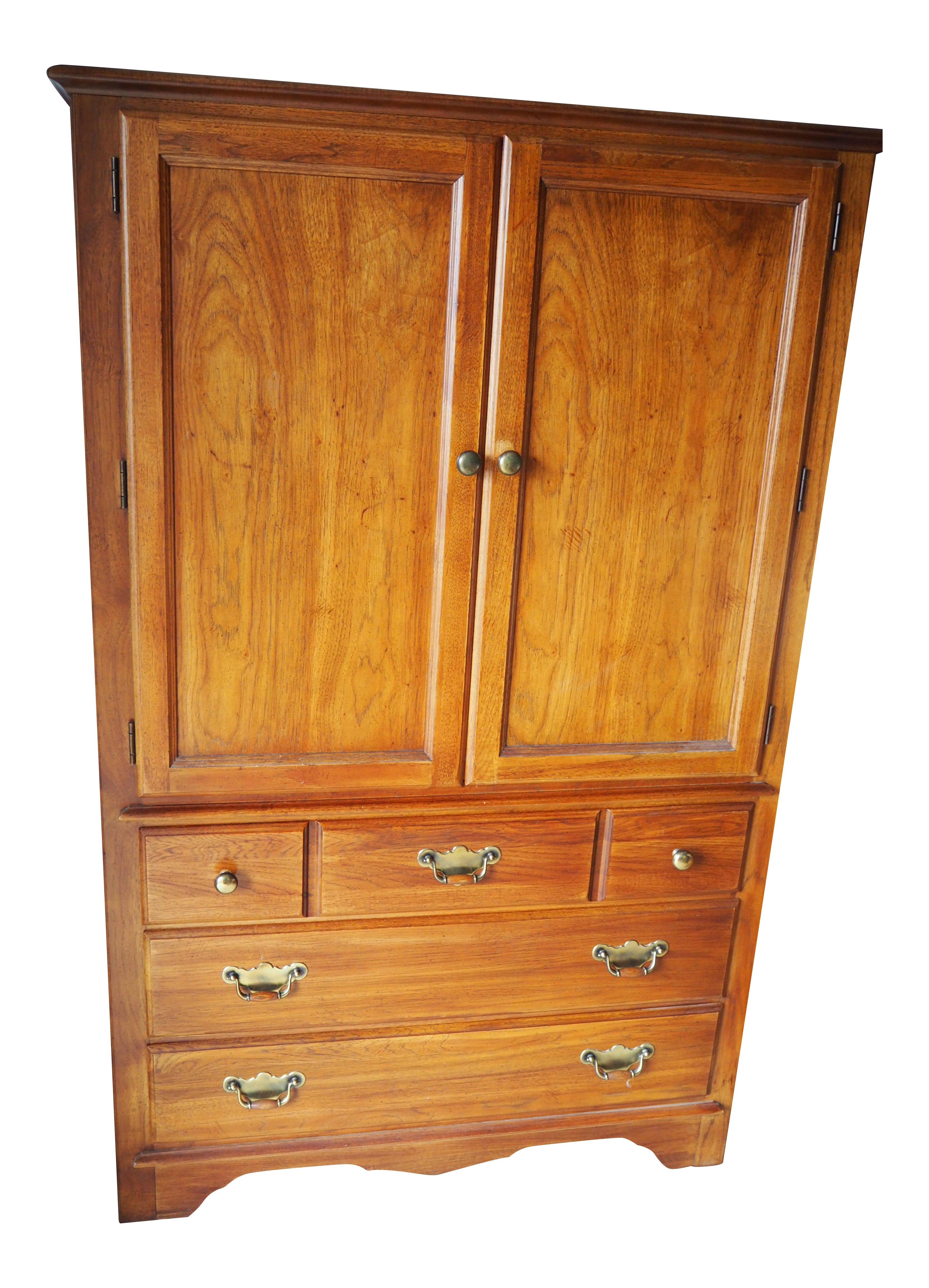 Gentil Thomasville Armoire Cabinet   Image 1 Of 5