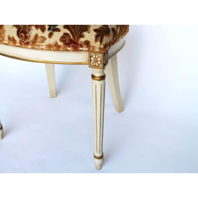 Floral Upholstered Side Chair For Sale - Image 5 of 7