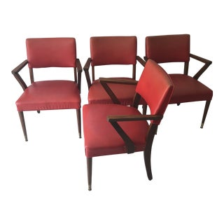 1950's Original Jasper Chairs- Set of 4 For Sale