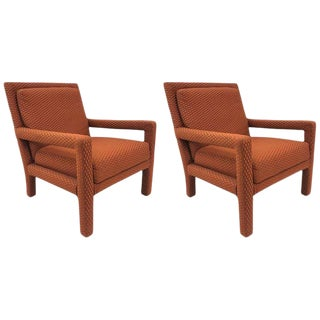 Pair of Parsons Chairs For Sale