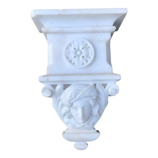 19th Century Neoclassical Marble Corbel For Sale