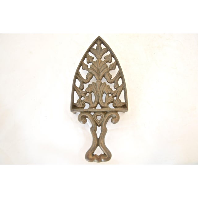 Antique Cast Iron Trivet - Image 2 of 4