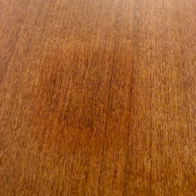 Teak Dining Extension Table by Niels Moller For Sale - Image 9 of 10