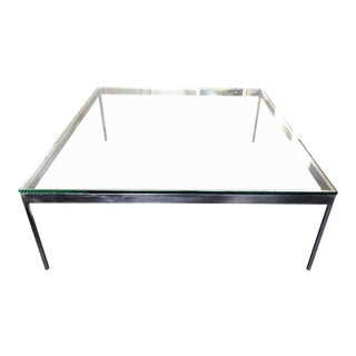 Large Square Cocktail Table by Nicos Zographos