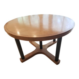 McGuire San Francisco Oak Dining Room Table For Sale
