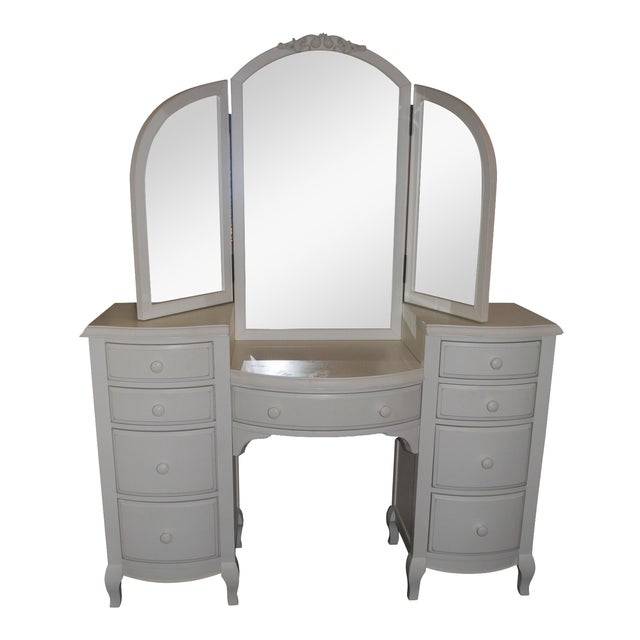 Pottery Barn Teen Lilac Vanity For Sale