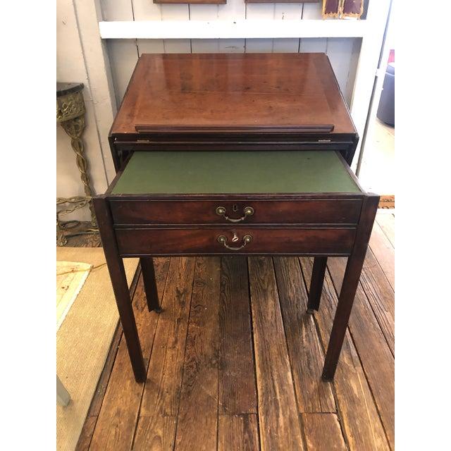 English Rare 19th Century Mahogany Mechanical Architect's Desk For Sale - Image 3 of 13