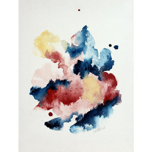 """Ellen Sherman """"Improbable Landscape"""" Painting - Image 1 of 5"""