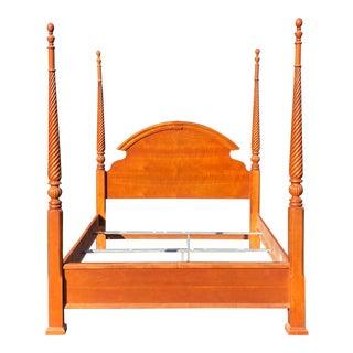 Vaughan- Bassett Queen Four Post Bed For Sale
