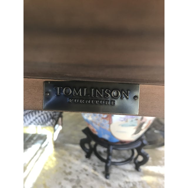 Tomlinson Walnut Mid-Century Tray Table For Sale - Image 6 of 9