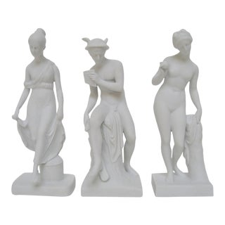 Bing & Grøndahl Bisque Figurines, Set of 3 For Sale