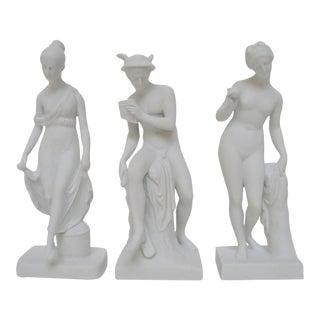 Bing & Grøndahl Bisque Figurines, Set of 3