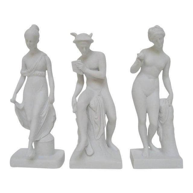 Bing & Grøndahl Bisque Figurines, Set of 3 For Sale