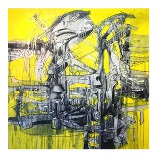 """Leviatan"" Oil Painting"