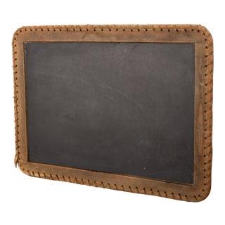 Antique Primitive Slate Board Chalkboard For Sale