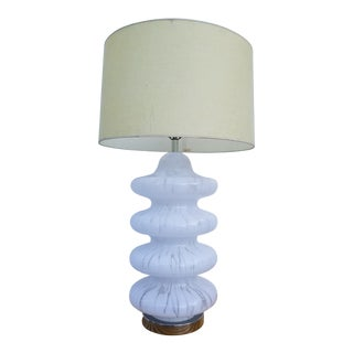 Carlo Nasson Italian Murano Table Lamp For Sale