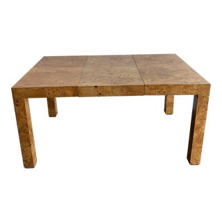 Patchwork Burl-Wood Dining Table For Sale