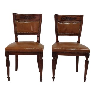 Antique Game Chairs - A Pair