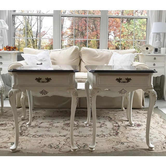20th Century Queen Anne Lexington End Tables - a Pair For Sale - Image 11 of 11