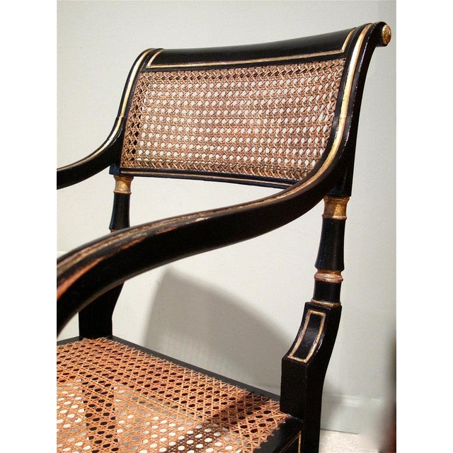 Early 19th Century English Regency Period Armchair - Image 5 of 6
